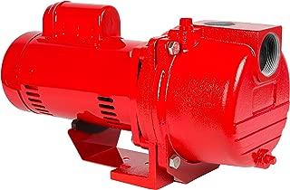 Red Lion RL-SPRK150 lawn-sprinkler-pumps, Red