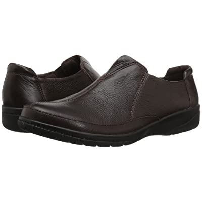 Clarks Cheyn Bow (Brown Leather) Women