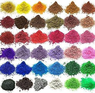 Colorant de savon de colorant de savon de mica pour la poudre de colorant de résine époxyde de colorant de bombe de Bath p...