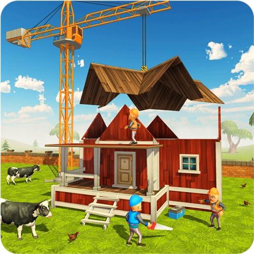 近代的な農家の建設