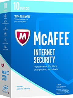 McAfee 2017 Internet Security - 10 Devices