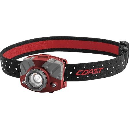 Coast Fl75r Rechargeable 530 Lumen Dual Color Focusing Led Headlamp Red Amazon Com
