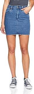 Wrangler Women's Hi Mini Skirt, Isla Blue