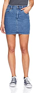 Wrangler Women's Hi Mini Skirt, Isla Blue