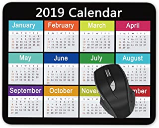 Best mouse pad monthly calendar Reviews