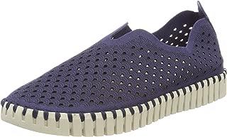 Women's Damen Sneaker Flach, Tulip3275 Trainers, Grey