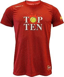 L Naranja Hombre Luanvi Edici/ón Limitada Camiseta t/écnica Match Point 52-70cm