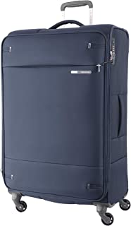 Samsonite 109258 Base Boost 2 Spinner Expandable Suitcase, Navy, 78 Centimeters