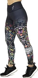 Art in Otomi Skull Women's Leggings