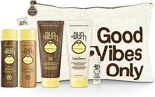 Sun Bum Travel Tripper Travel Kit. On-The-go TSA Approved Sun and Hair Bundle with SPF 30 Sunscreen Lotion, Shampoo, Condi...