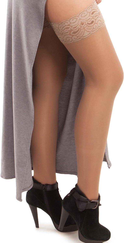 High order GABRIALLA Sheer Graduated Compression Trea Thigh Stockings High Super-cheap