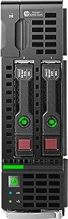 HPE 779803-S01 ProLiant BL460c Gen9 Server, 128 GB RAM, No HDD, Matrox G200eH, Black (Renewed)