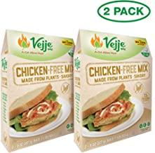 Vejje Meat-Free Mixes (CHICKEN-FREE MIX) (2-Pack) (Makes 5 Pounds)