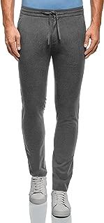 oodji Ultra Uomo Pantaloni con Elastico e Laccetti in Vita