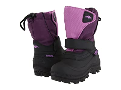 Tundra Boots Kids Quebec Wide (Toddler/Little Kid/Big Kid) (Purple) Girls Shoes