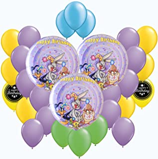 Looney Tunes Party Balloon Bouquet Decorating Bundle