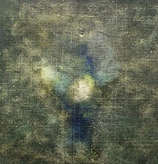 """Pintura sobre lienzo Arte abstracto moderno contemporáneo""""Retrato personal-Homenaje a Leonardo"""" 2018 obra original única d..."""