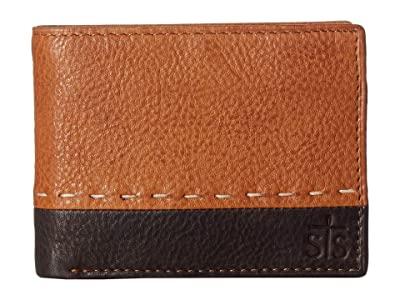 STS Ranchwear Frontier Bifold Wallet (Tan Leather) Handbags