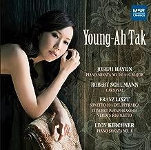 Haydn: Piano Sonata No.60 in C; Franz Liszt: Sonetto 104 del Petrarca, Rigoletto Paraphrase; Schumann: Carnaval; Kirchner: Piano Sonata No.1