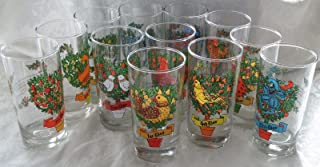 Best 12 days of christmas glasses indiana glass Reviews
