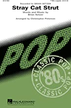 Hal Leonard Stray Cat Strut TTBB A Cappella by Brian Setzer arranged by Christopher Peterson