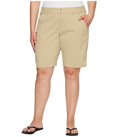 Columbia Plus Size Saturday Trailtm Long Short (British Tan) Women