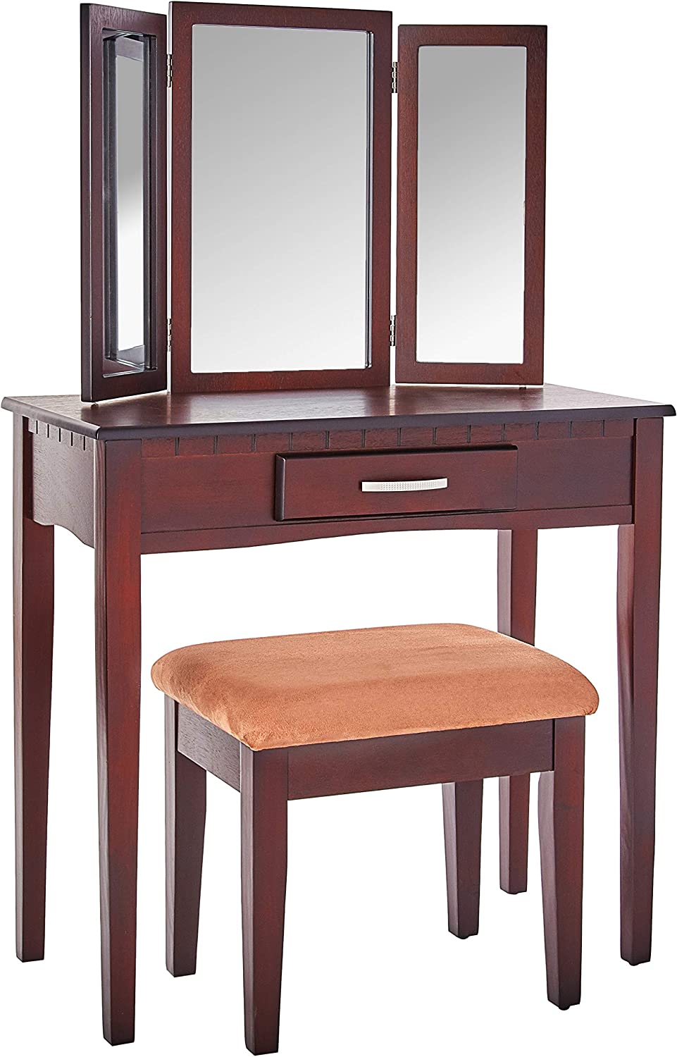 Frenchi Home Furnishing Today's only 2 Piece Set Stool Vani free