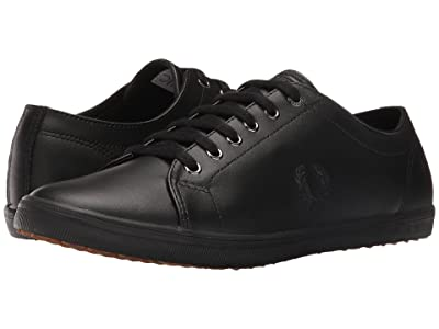 Fred Perry Kingston Leather (Black/Black) Men