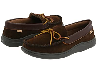 L.B. Evans Atlin (Chocolate Suede W/Terry Lining) Men