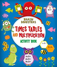 Brain Boosters: Times Tables and Multiplication Activity Book