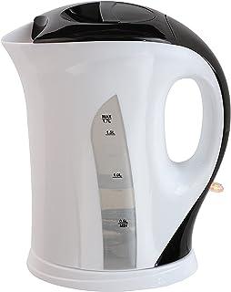 Domoclip DOD140 Bouilloire électrique sans fil, 1.7 liters, Blanc/Noir