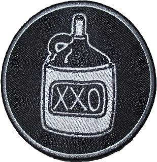 Elle King Men's Moonshine Embroidered Patch Black
