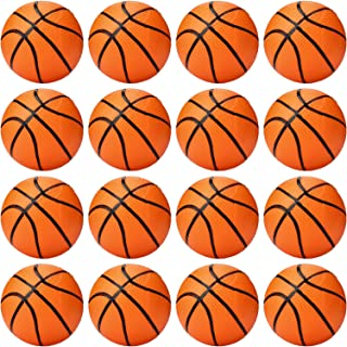 16 Packs Mini Basketball 4 Inch Small Hoop Basketballs Plastic Pool Basketball Toys for Small Hands Boys Girls Sports Themed Party Favor Toys