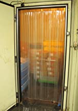 【プレハブ冷凍庫】 固定式スリットカーテン (900W×2000H)