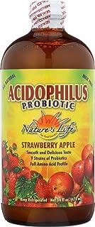 Nature's Life Acidophilus, Strawbry Apple, 16 Ounce