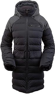 Spyder Women's Transit Gore-Tex Infinium Down Parka – Full-Zip Hooded Winter Jacket