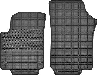 B012 GERCAR Passgenaue Gummimatte 4-teilig in schwarz f/ür VW Up ab 11//2011 und Cross Up ab 09//2013 Passform Fu/ßmatten inklusive Befestigungssystem