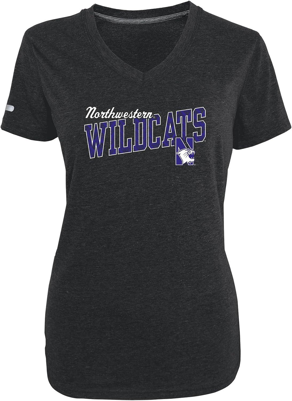 Champion NCAA Womens Achievement Short Sleeve V-Neck Tee
