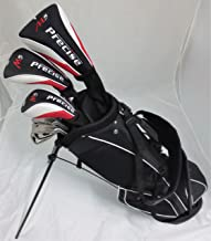 Tartan Sports New Teen Golf Club Set Complete with Stand Bag for Teenagers Ages 13-16 Driver, Wood Hybrid, Irons Putter