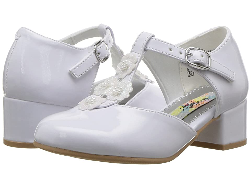 Rachel Kids Lil Diane (Toddler/Little Kid) (White Patent) Girl