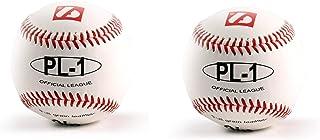 PL-1 Elite match barnett baseball ball set, size 9 ,white, 2 pcs