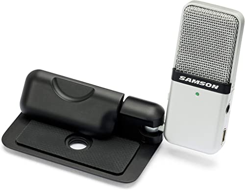 Samson 29/GOMIC Samson Go Mic Clip on USB Microphone, Black