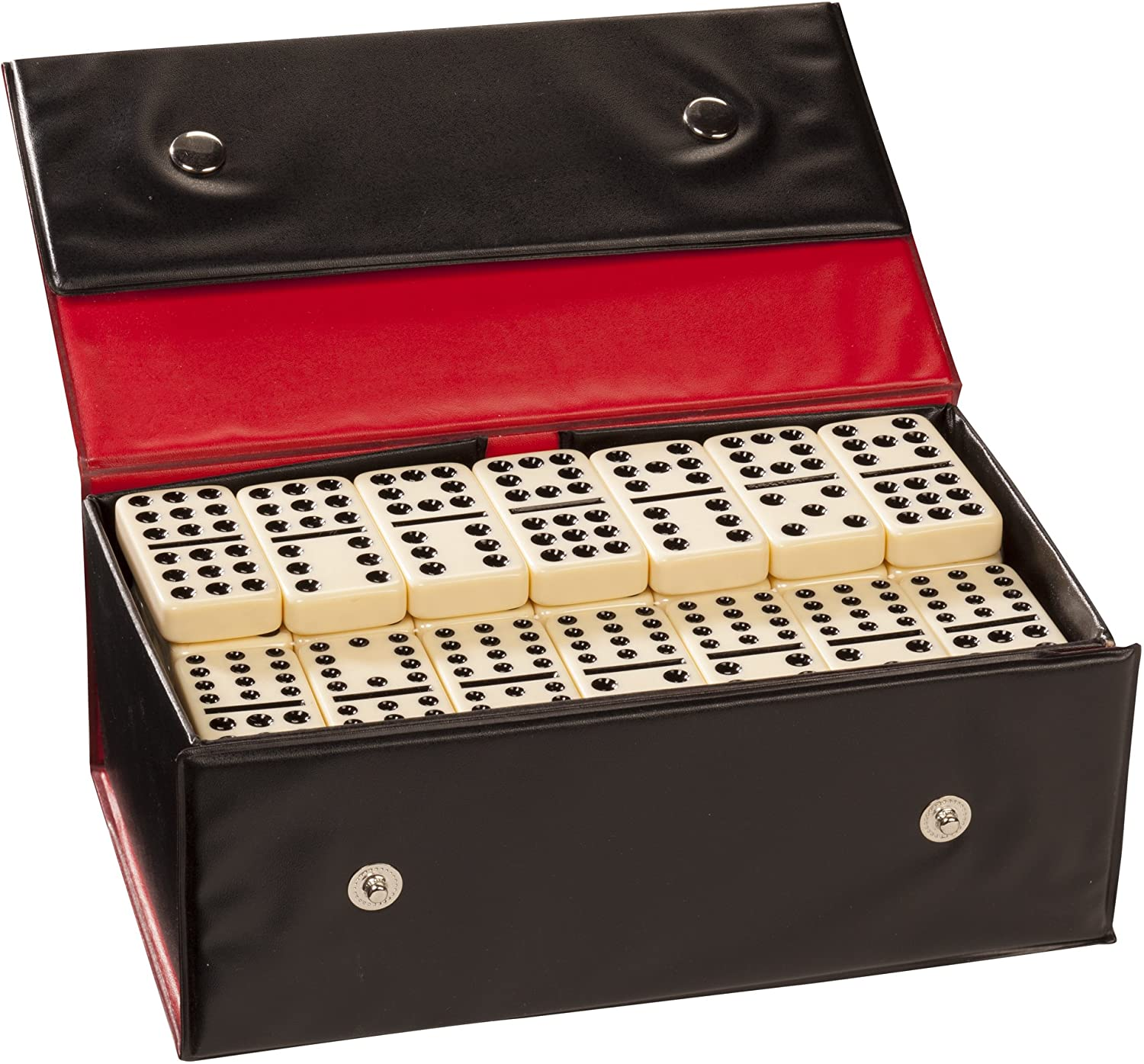 WE Games Double Twelve Dominoes - famous Siz Thick Ranking TOP2 Tiles Ivory Colored