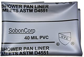 SHOWER PAN LINER 6X10 Grey Made in US