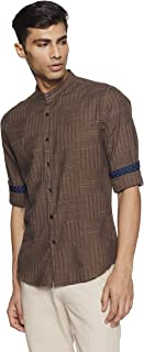 Diverse Men's Checkered Casual Shirt