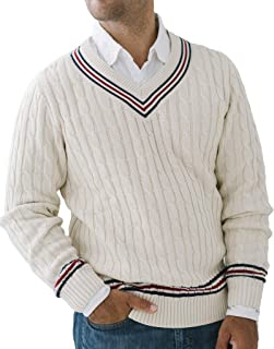 Hope & Heny Men's V-Neck Cricket Sweater