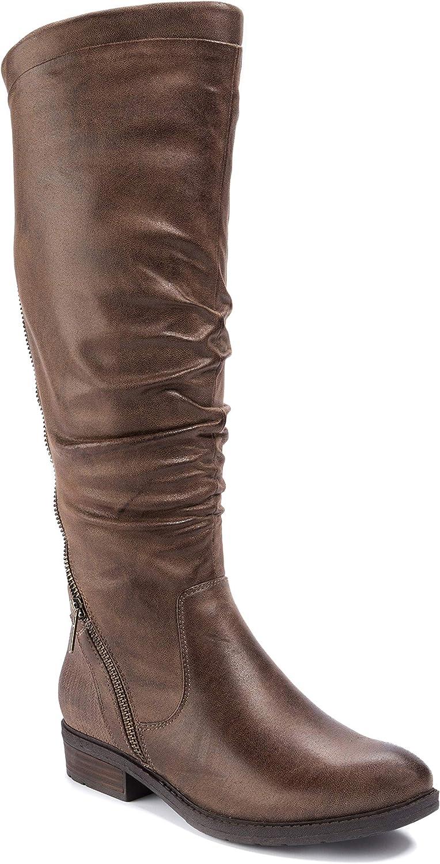 BareTraps Womens Yulissa-WC Closed Toe Knee High Fashion Boots