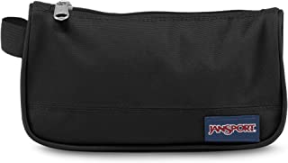 Estojo Medium Accessory Pouch Jansport, Unissex, Black, tamanho Único