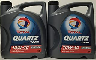 Total Quartz 7000 Diesel 10W40 10 LITROS (2x5 litros)