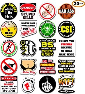 funny toolbox stickers decals